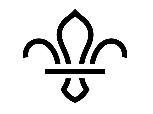 UK Scout fleur de lis