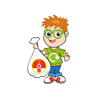 Recycle with Michael logo