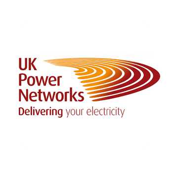 UKPN logo saying 'UK Power Networks Delivering your electricity'