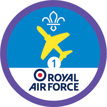 Royal Activities Stage 1 RAF badge