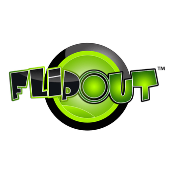 an image of the flipout logo