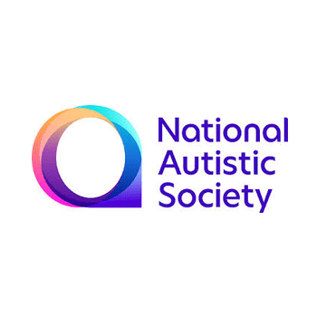 A logo of the national autistic society