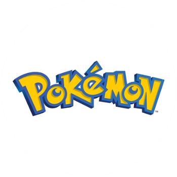 Pokemon Logo in yellow and blue
