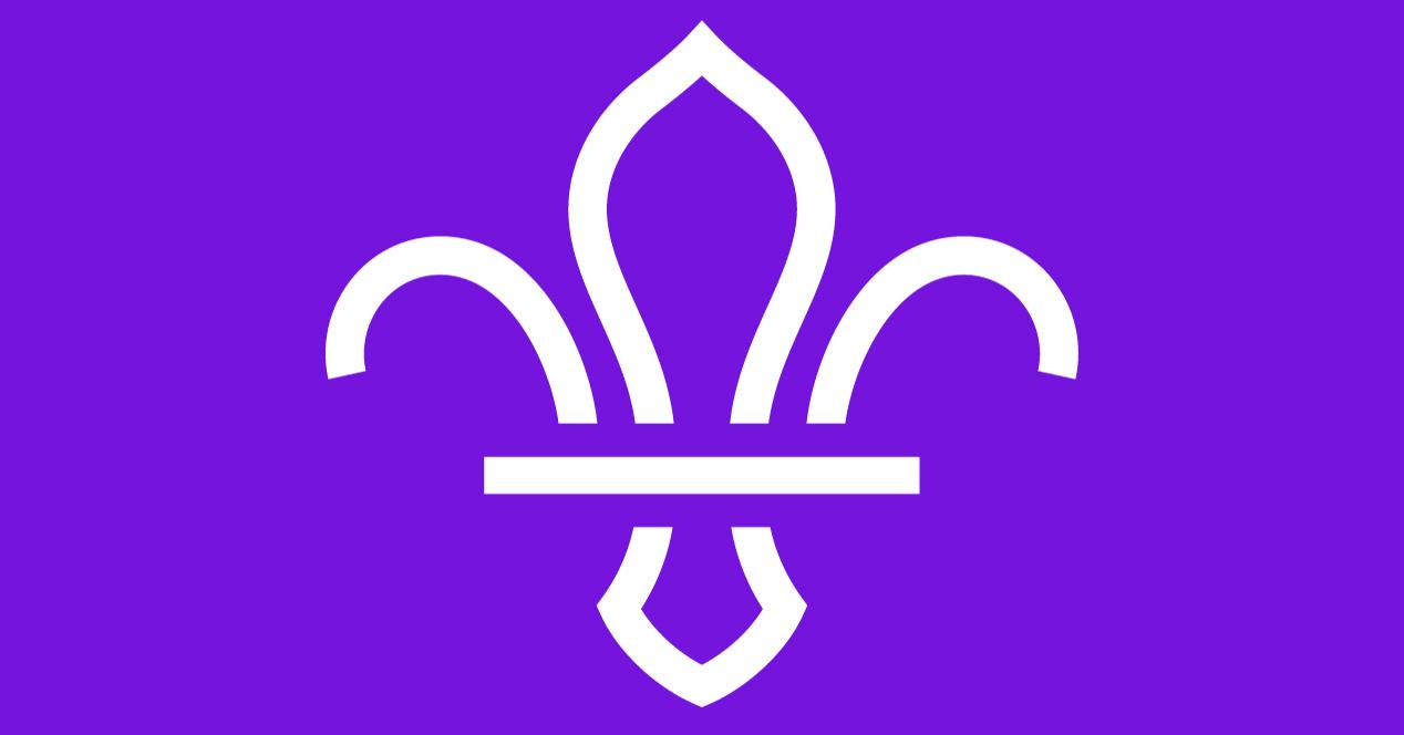 The Scouts Fleur in purple