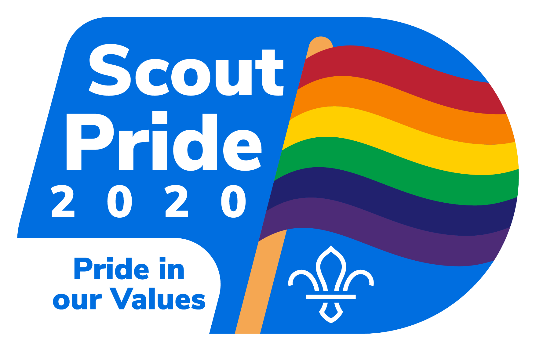 Scout Pride Badge 2020